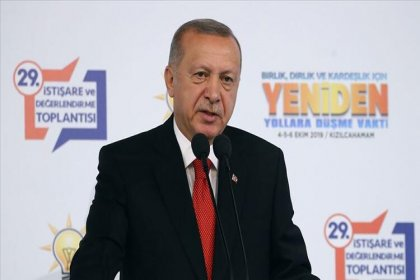 Erdoğan: Yüzde 50 sınırı vazgeçilmez bir kriterdir, bu tartışmayı bir daha açılmamak üzere  kapatıyoruz