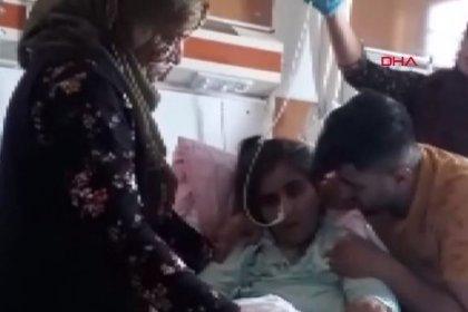 Eşi öldüresiye dövdü, hastanede 'merdivenden düştü' denildi!