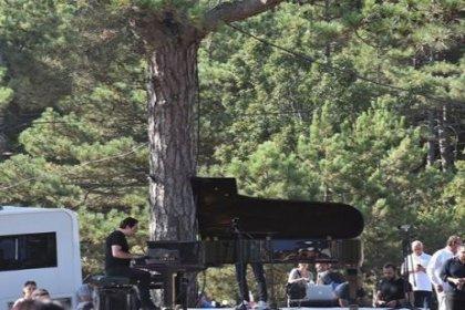 Fazıl Say Kaz Dağları'nda konser verdi: 'Yaşatmaktan yana olmalıyız'