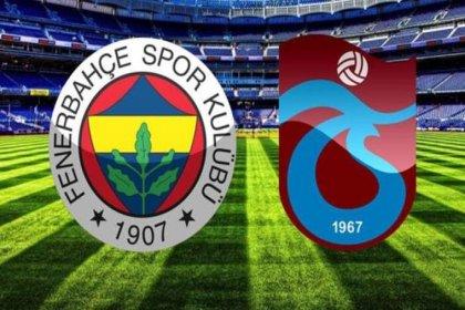 Fenerbahçe- Trabzonspor maçının hakemi belli oldu