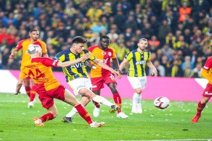 Fenerbahçe, Galatasaray derbisi 1-1 berabere bitti