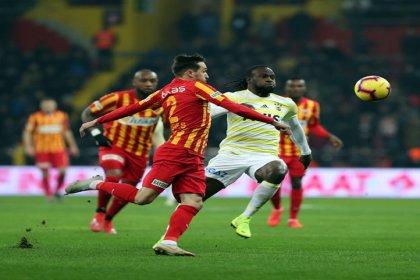 Fenerbahçe, Kayserispor'e 1-0 mağlup oldu