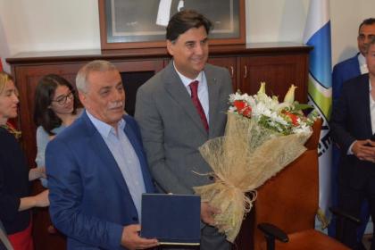 Fethiye Belediye Başkanı Alim Karaca görevine başladı