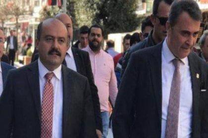 Fikret Orman Cumhur İttifakı için sahaya indi, Beşiktaş taraftarından tepki geldi