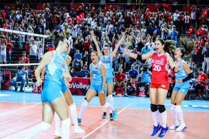 Filenin Sultanları, Avrupa Şampiyonası'nda 3'te 3 yaptı