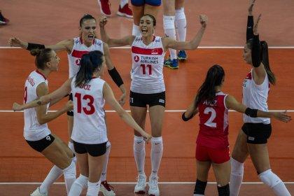 Filenin Sultanları Sırbistan'a 3-2 sonuçla yenildi ve Avrupa 2.'si oldu