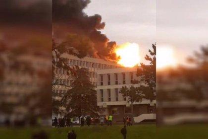 Fransa'da üniversite kampüsünde patlama