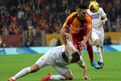 Galatasaray - MKE Ankaragücü: 2-2 berabere kaldı