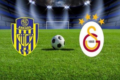 Galatasaray-Ankaragücü maçı 19.00'da