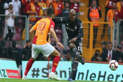 Galatasaray, Beşiktaş'ı  2-0 yendi