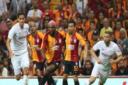 Galatasaray, Konyaspor'la 1-1 berabere kaldı