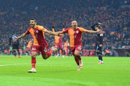 Galatasaray, Trabzonspor'u 3-1 yendi