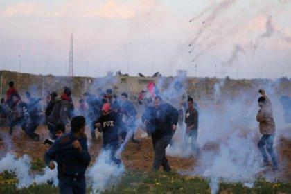 Gazze'deki 'Büyük Dönüş Yürüyüşünü' anma eyleminde bir Filistinli öldürüldü