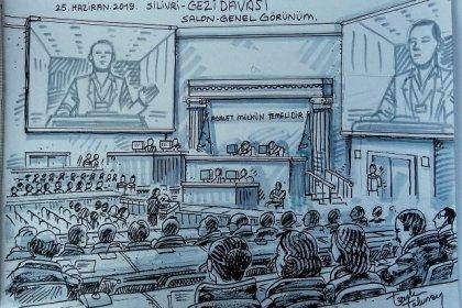 Gezi davası duruşması 2. gününde: Yiğit Aksakoğlu'na tahliye Osman Kavala'nın tutukluluğunun devamına karar verildi; davaya 18-19 Temmuz'da devam edilecek