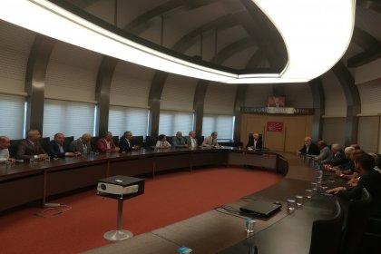 Gümüşhane Toplumsal Dayanışma Platformu Kılıçdaroğlu'nu ziyaret etti