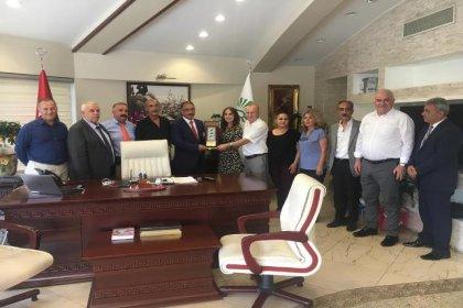 Gümüşhane Toplumsal Dayanışma Platformu'ndan İSTAÇ Genel Müdürü'ne tebrik ziyareti