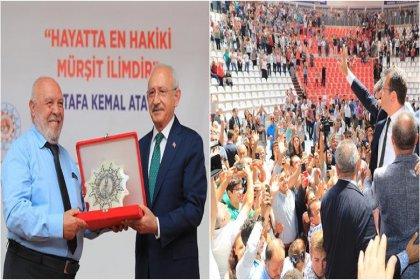 Hacı Bektaş Veli Dostluk ve Barış ödülü Musa Eroğlu'na verildi