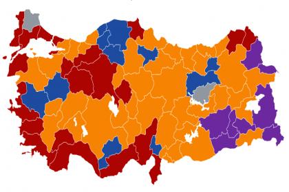 Hangi parti kaç ilde belediye kazandı?