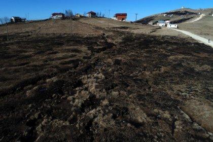 'Hassas alan' tescilli 10 bin yıllık Turba Bataklığı küle döndü
