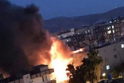 Hatay Reyhanlı'da insani yardım derneğinin deposunda patlama: 7 kişi yaralandı