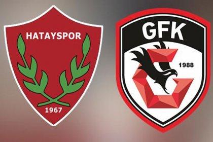 Hatayspor ve Gazişehir Gaziantep final için karşı karşıya geliyor