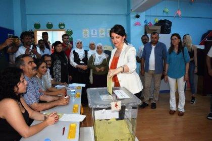 HDP Eş Genel Başkanı Buldan oyunu kullandı: Sandıktan barış, kardeşlik ve özgürlüğün çıkacağına yürekten inanıyorum