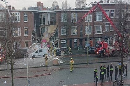 Hollanda'da patlama