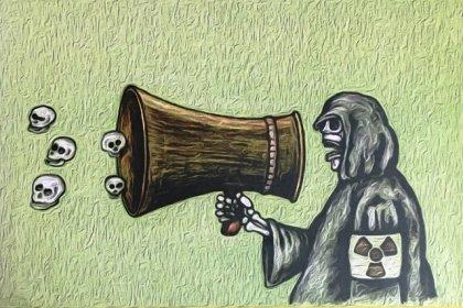 Homur ve NKP'den ortak sergi: 'Sinop Nükleer Santral istemiyor'