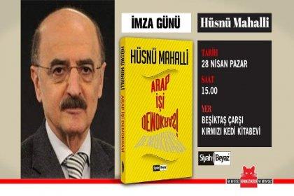 Hüsnü Mahalli, 28 Nisan'da Beşiktaş'ta okurlarıyla buluşuyor