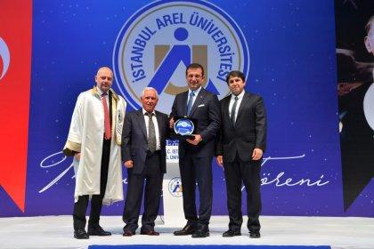 İBB başkanı Ekrem İmamoğlu Arel Üniversitesi mezuniyet törenine katıldı