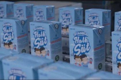 İBB, 'Halk Süt' projesi ile binlerce çocuğa ücretsiz süt ulaştırıyor