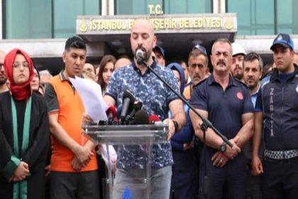 İBB önünde Ekrem İmamoğlu aleyhinde bildiri okuyan belediye çalışanının işine son verildi