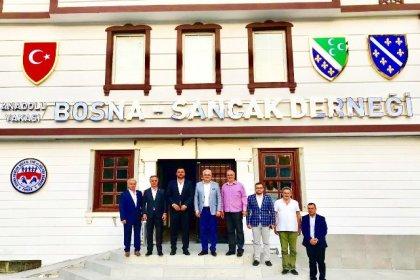 İBB ve Bayrampaşa Belediye Meclis üyelerinden Anadolu Bosna Sancak Deneği'ne ziyaret