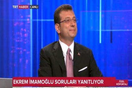 İBB'nin seçilmiş başkanı Ekrem İmamoğlu TRT Haber'de Canlı yayınında: Sn. Vali Bey bütün bilboardlara israf yapmadığınıza dair afişleri siz mi astırdınız?