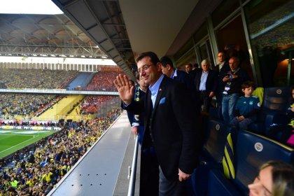İmamoğlu, Fenerbahçe-Galatasaray derbisinde