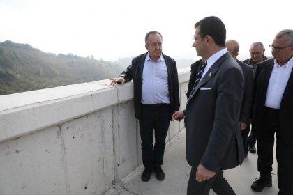 İmamoğlu, Melen Barajı'nda incelemelerde bulundu