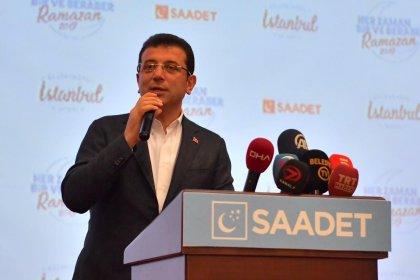 İmamoğlu, Saadet Partisi iftarında konuştu: Tatil uzun ama vatandaşlık sorumluluğu da var!