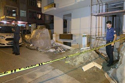 İnşaat işcisi asansör boşluğunda ölü bulundu
