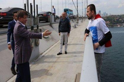 İntihar etmek isteyen kişiyi Ahmet Davutoğlu ikna etti