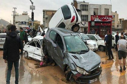 İran'daki sel felaketinde hayatını kaybedenlerin sayısı 19'a yükseldi