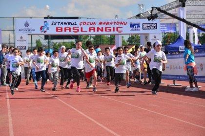 İstanbul çocuk maratonu 22 Eylül'de Maltepe Sahili'nde