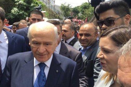 İstanbul'a mitil atmaya dün Mehter Marşı'yla gelen Bahçeli bugün Ankara'ya döndü