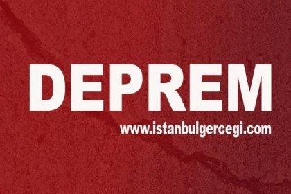 İstanbul'da 3.2 büyüklüğünde deprem