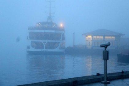 İstanbul'da deniz ulaşımına sis engeli: Tüm seferler iptal