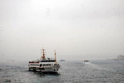 İstanbul'da Haliç dışında tüm vapur seferleri iptal edildi
