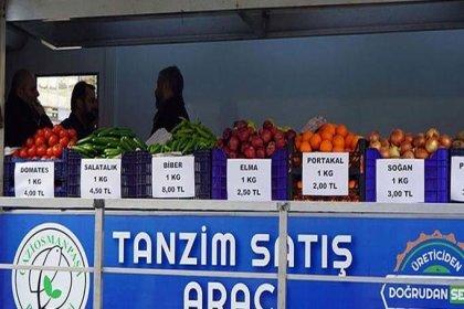 İstanbullular, tanzim satış noktalarından en çok domates aldı