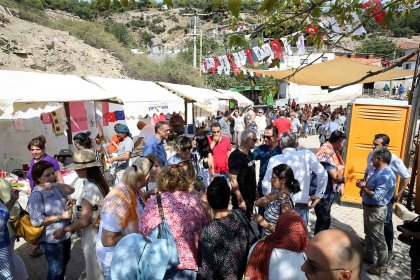 İzmirliler 'Yamanlar Köy Şenliği'nde buluştu