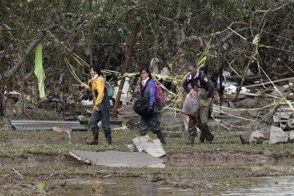 Japonya'daki tayfun felaketinde ölü sayısı 40'a yükseldi