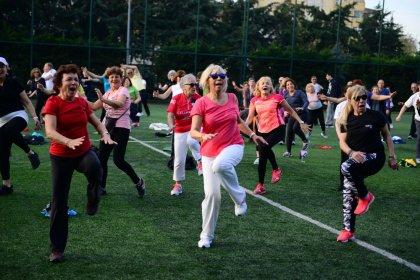 Kadıköy'de sabah sporu etkinliği başlıyor
