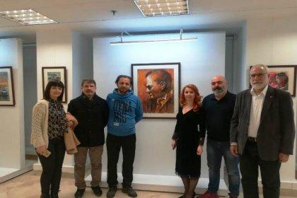 Kadriyegül Sardoğan'ın ''Kırmızı'' suluboya resim sergisi açıldı